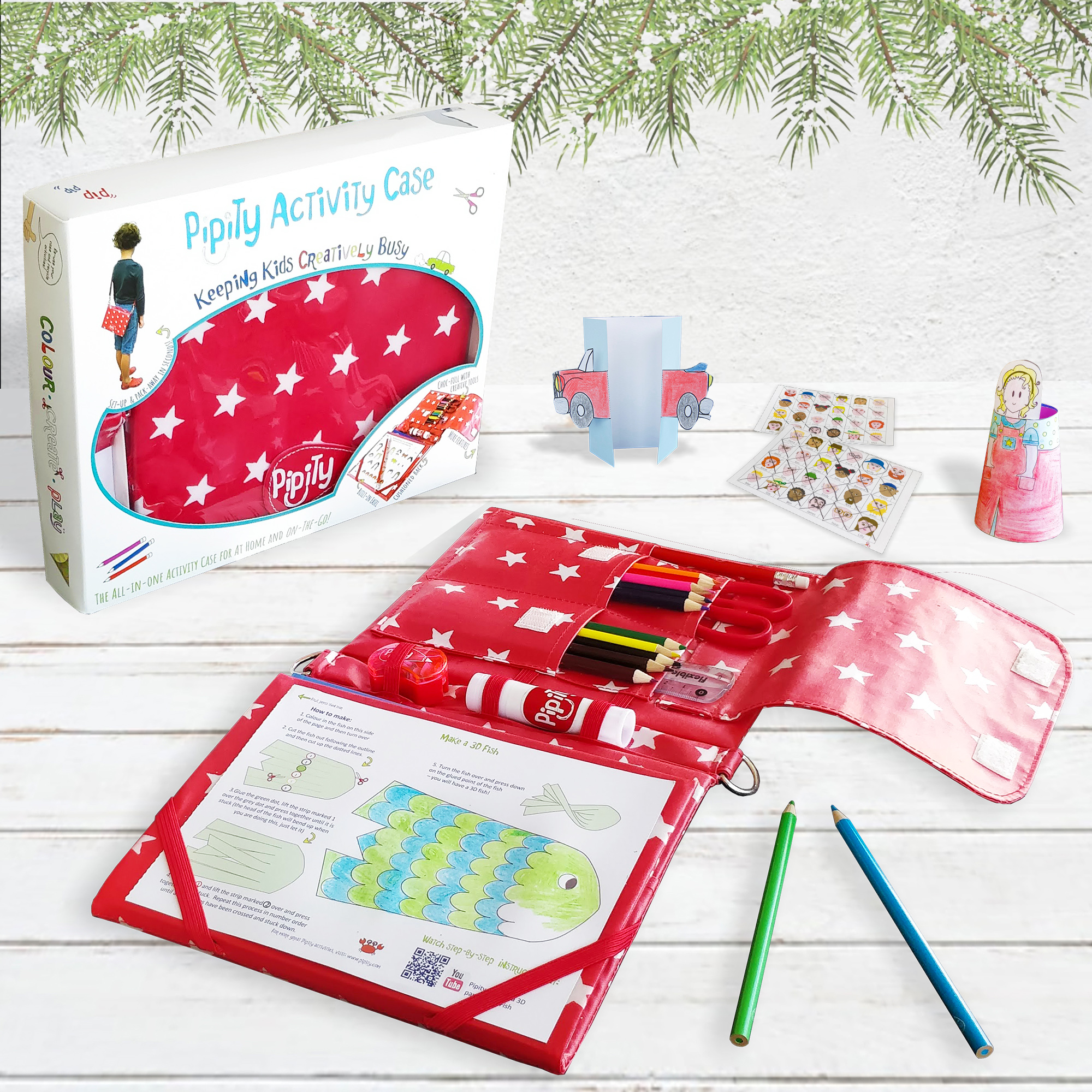 Pipity childrens activity case